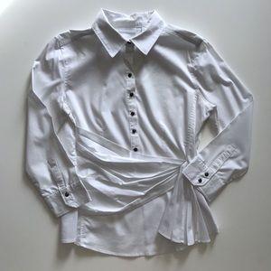 NY & Co. white blouse, women's medium